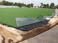 Instal·lació de gespa artificial al camp de futbol del Poliesportiu Municipal 7