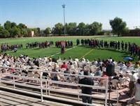 Instal·lació de gespa artificial al camp de futbol del Poliesportiu Municipal 2