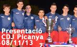 Presentació CD Juventud Picanya temporada 2013/2014