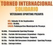 El club Veteranos Sporting Picanya organitza un triangular solidari