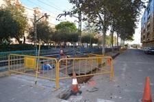 Ampliació vorera carrer Pau