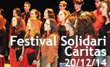 Festival solidari Caritas. Actuació corals