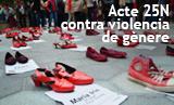 Acte de rebuig a la Violència de Gènere