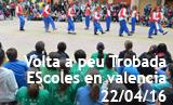 Volta a peu de les trobades d'escoles en valencià