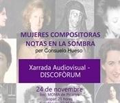 """""""Mujeres compositoras, notas en la sombra"""""""