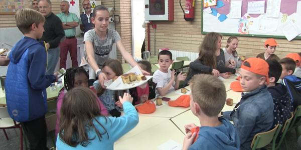 Intercanvi escolar Picanya/Panazol - Arribada dels escolars