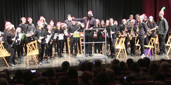 Festival Solidari Cáritas - Banda infantil de la Unió Musical de Picanya
