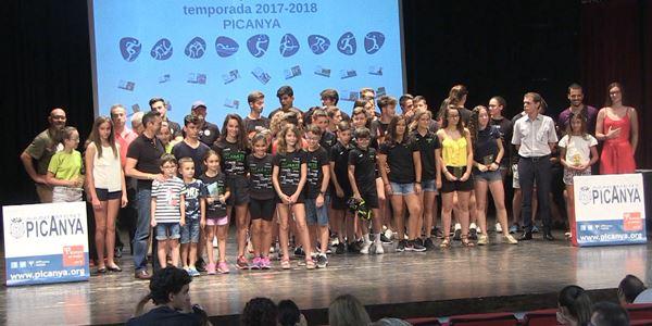 FESTES 2018 - Acte de reconeixement als esportistes destacats