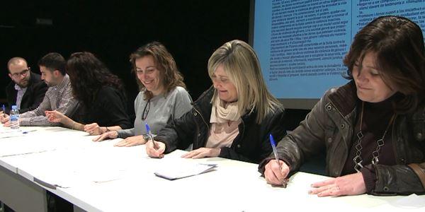 Renovació de l'Acord Ciutadà Contra la Violència de Gènere