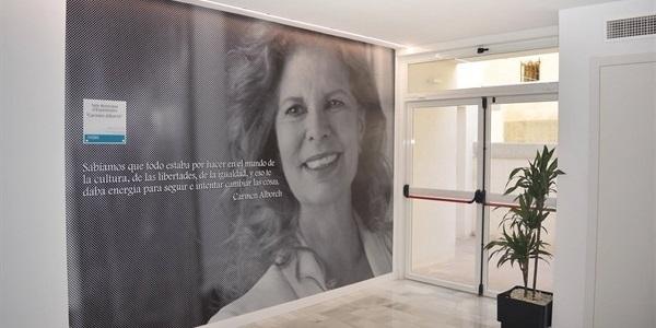 """Inauguració Sala Municipal d'Exposicions """"Carmen Alborch"""""""