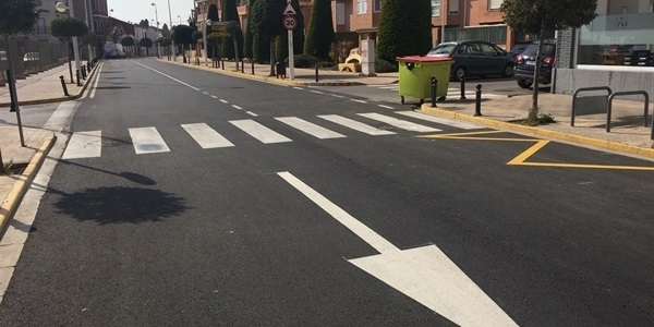Finalitzat l'asfaltat del carrer Oriola