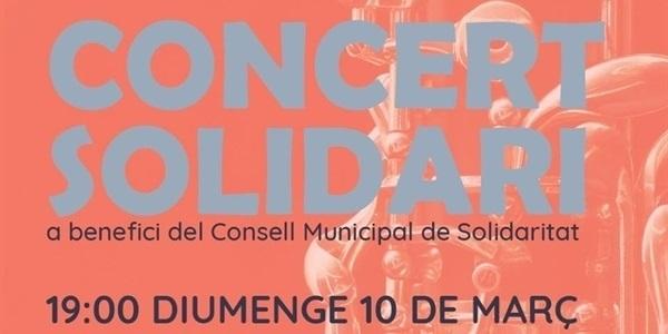 Concert solidari a càrrec de la Unió Musical