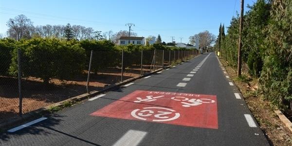 El Camí dels Horts esdevé via preferent per a vianants i ciclistes
