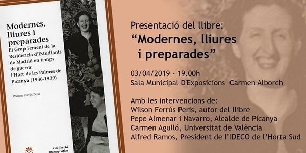 """Presentació del llibre """"Modernes, lliures i preparades"""""""