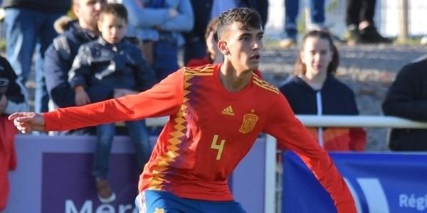 El picanyer Rubén Iranzo juga a França amb la selecció espanyola U16