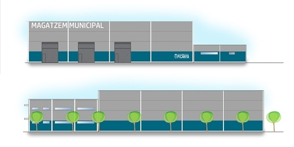 En marxa el nou magatzem i arxiu municipal al polígon Taronja