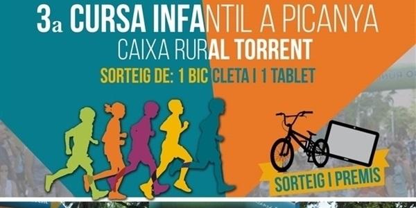 Cursa Infantil Caixa Rural Torrent este dimecres 3 de juny