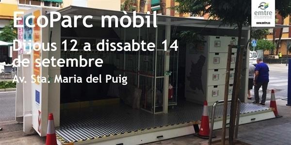 Eco-Parc mòbil des de demà dijous 12 a l'Av. Sta. Maria del Puig