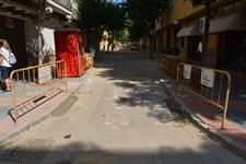 Obres de millora als carrers Bonavista i Vicente Serrador