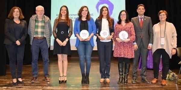 Acte de lliurament de la 2a edició dels Premis Concepción Aleixandre